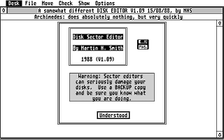 Disk Sector Editor